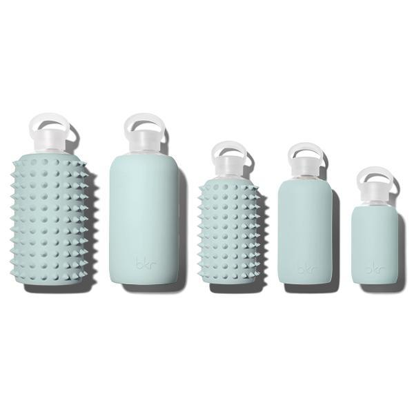 Image of Bkr Sage Green Spiked 500 Ml Water Bottle