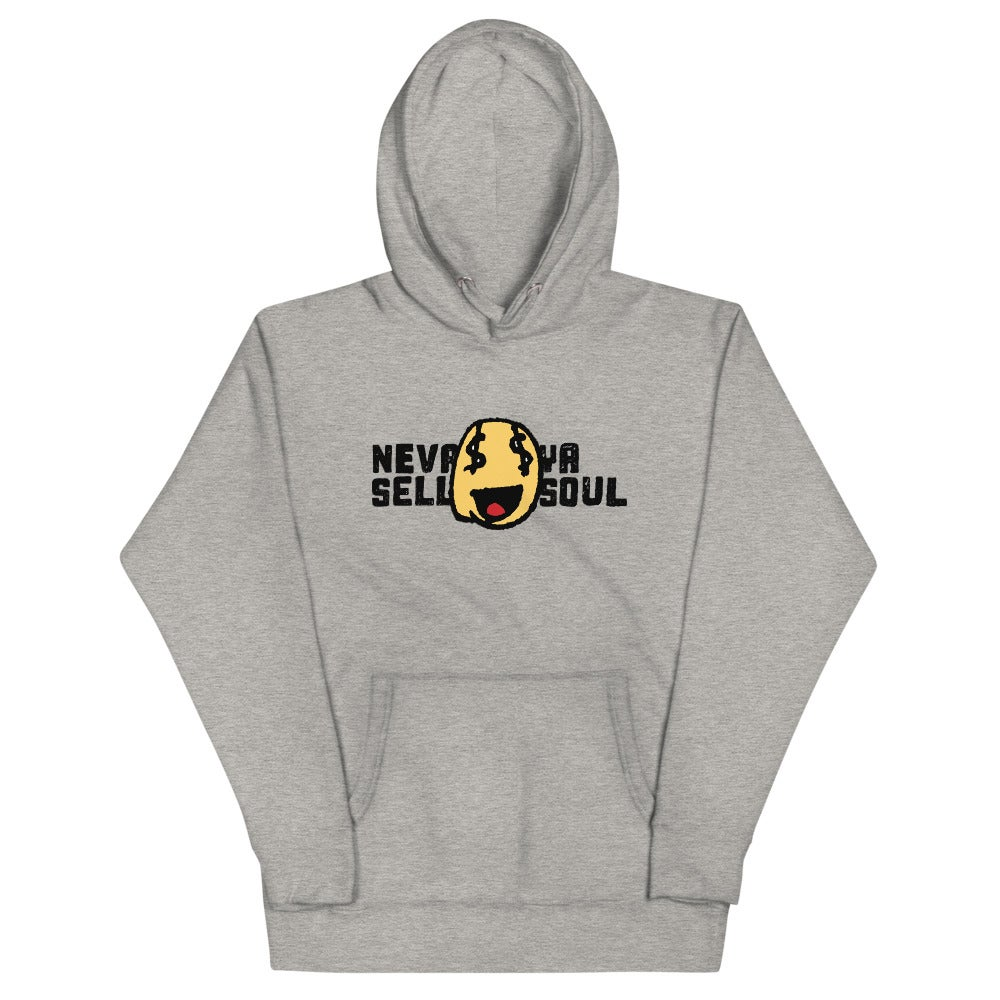 Nevr Sell Ya Soul Hoodie (front & back)
