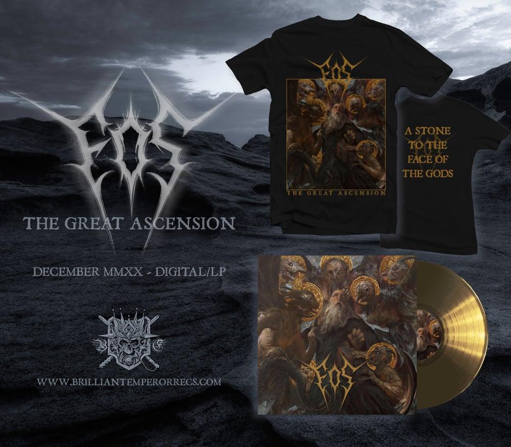 """EOS """"The Great Ascension"""" LP/t-shirt Bundle"""