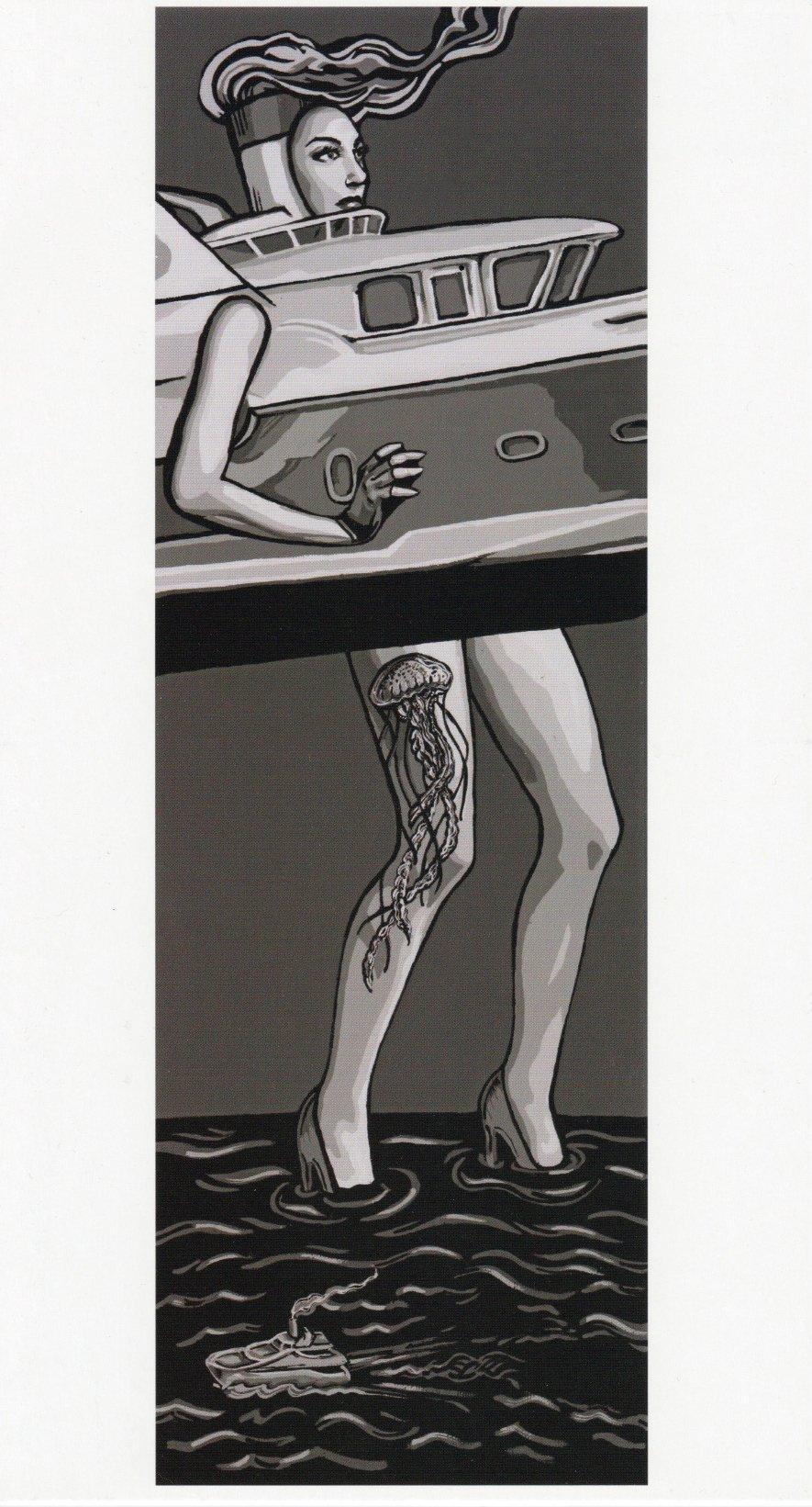 Sea Legs - Jumbo Art Cards Set of 3 - Limited Edition