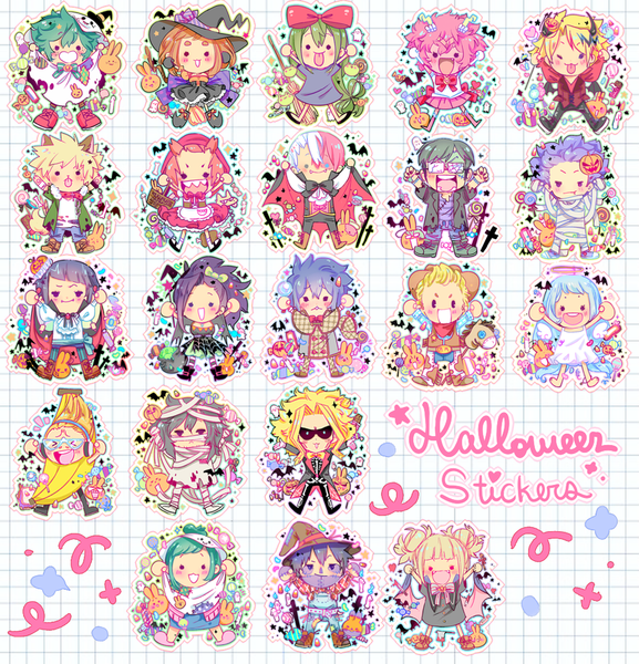 Image of Halloween Herokids stickers