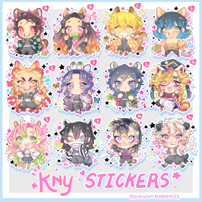 Image of Demonkid stickers