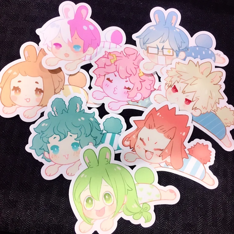 Image of Baby Bunny stickers