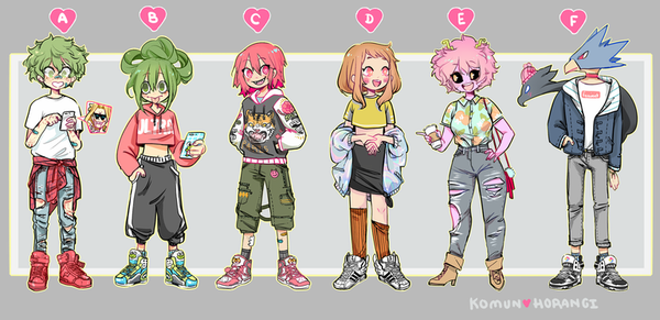 "Image of Streetwear Kids 3.5"" Fashion Acrylic Charms"