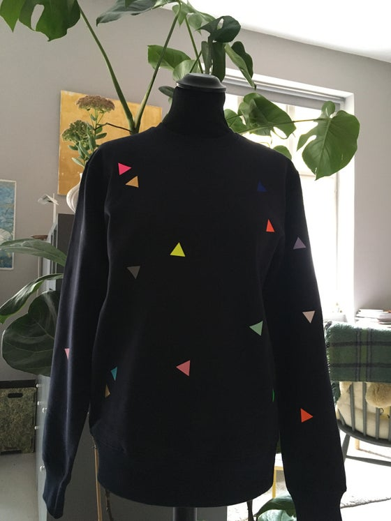 Image of Sweater Triangle navy ADULTS