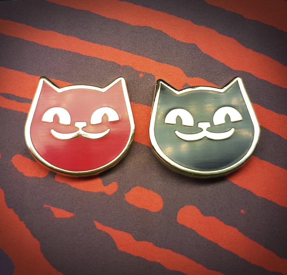 Image of Army of Cats Hard Enamel Pin Badge