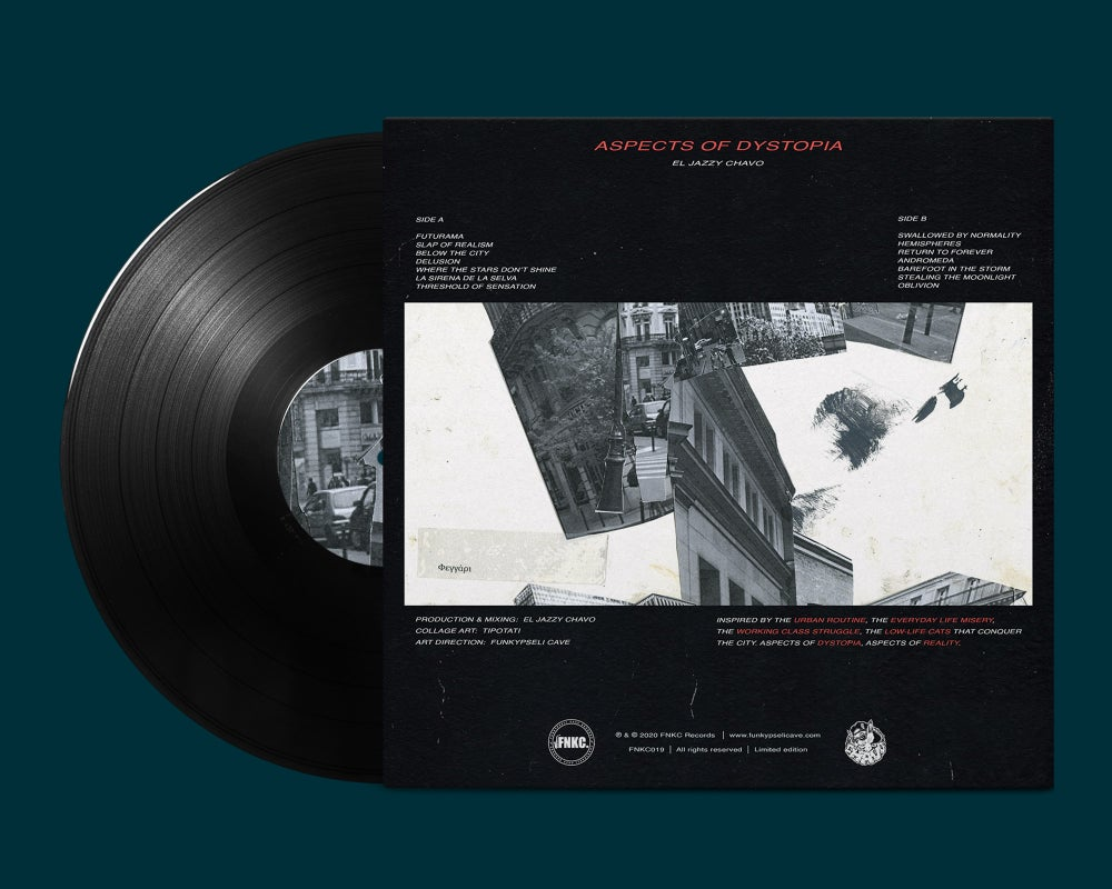 El Jazzy Chavo - Aspects of Dystopia (Black Vinyl)