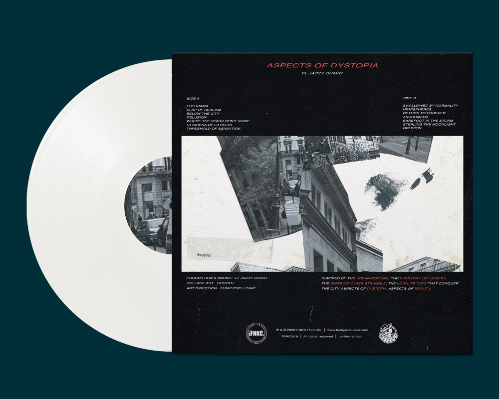 El Jazzy Chavo - Aspects of Dystopia (White Vinyl)