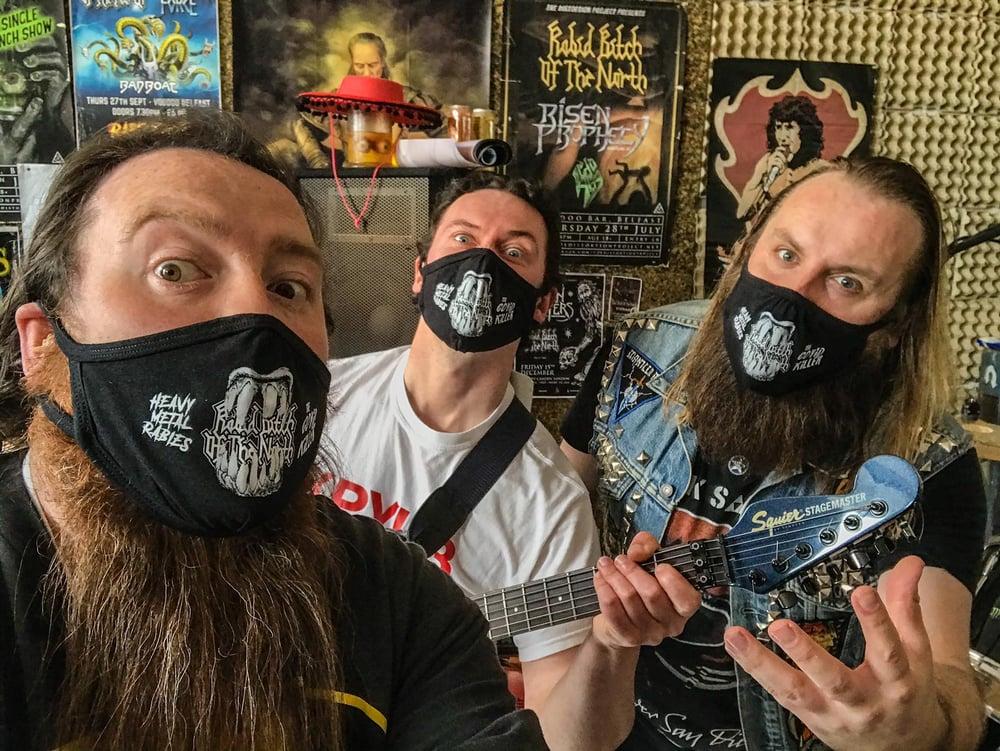 Image of Heavy Metal Rabies Mask