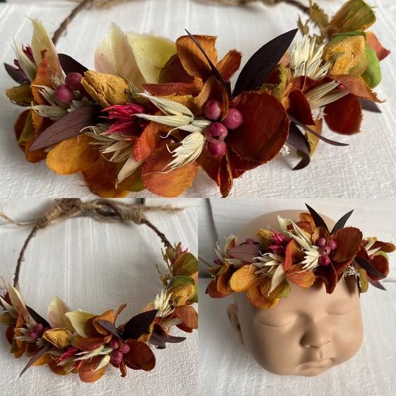 Image of Autumn half crown