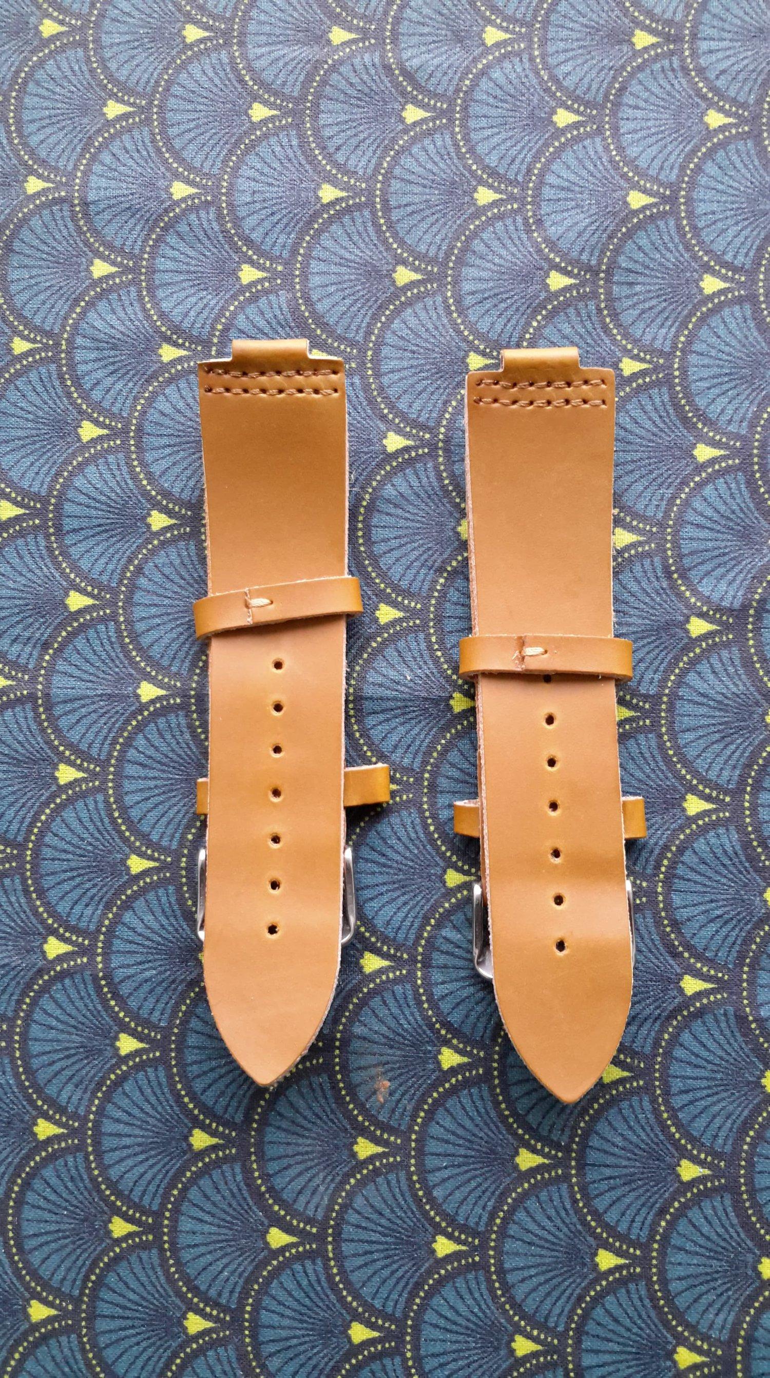 Image of commande 2 bracelets cuir