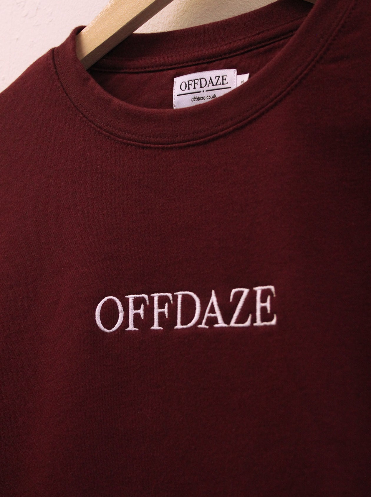 Image of Offdaze Maroon Pocket Sweatshirt