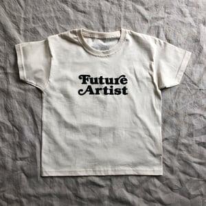 Artist T-shirt Raw Cotton