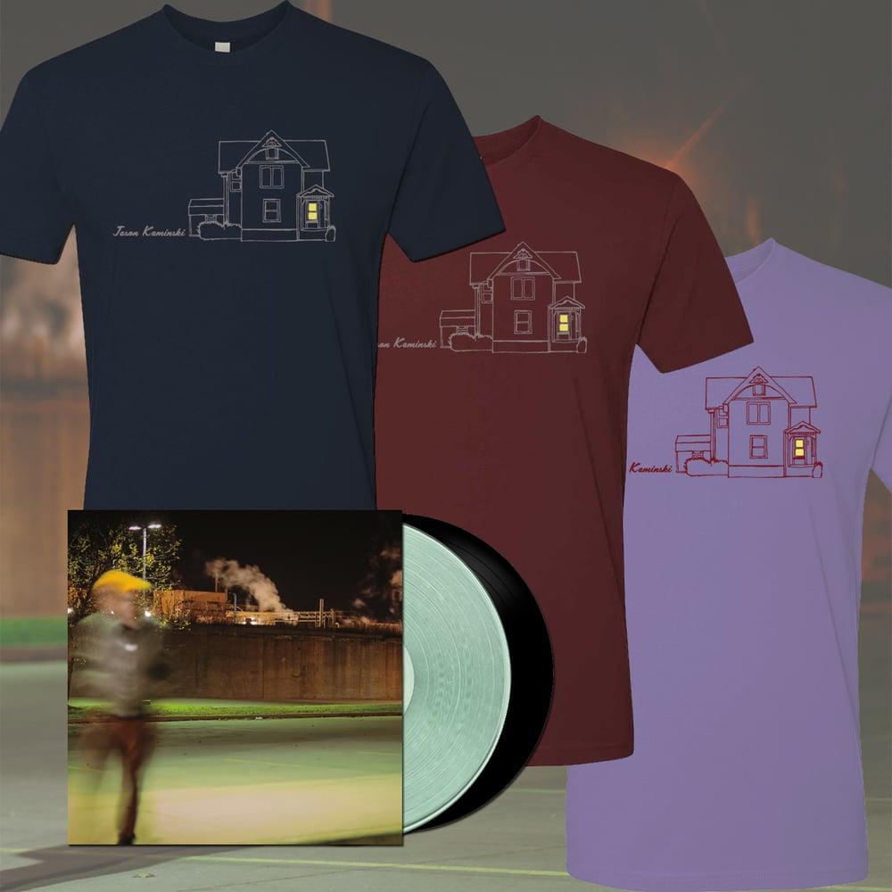 Image of Jason Kaminski - Until Tomorrow LP + Shirt Bundle
