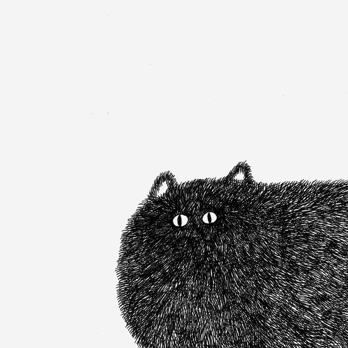 Image of Kitty No.2 – A4 Open Edition Print