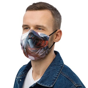 Image of WARHOOD ARTWORK All-Over Print Face Mask