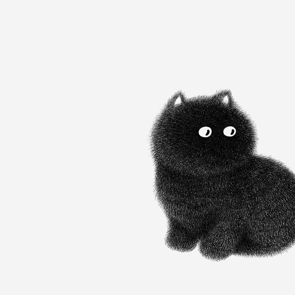 Image of Kitty No.17 – 39x28cm Limited Edition Print