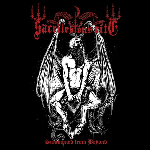 Image of SACRILEGIOUS RITE - Summoned From Beyond LP