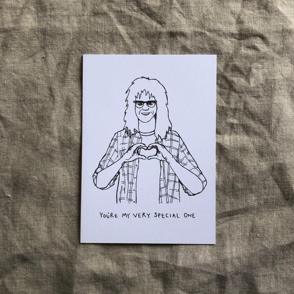 Garth Recycled Greetings Card