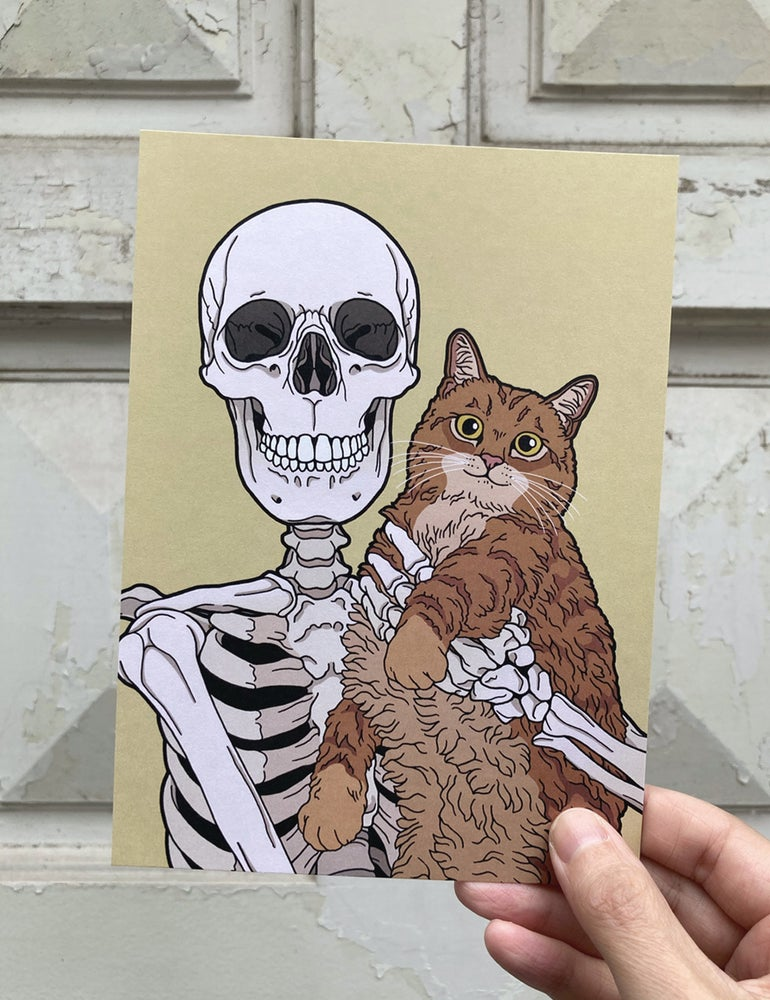 Image of Every day is Caturday - print
