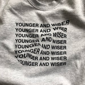Younger And Wiser Sweater Grey Marl