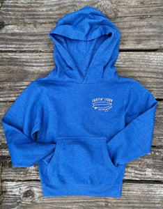 Image of Kids Spoon Beach Pullover Hoodie - Royal Blue