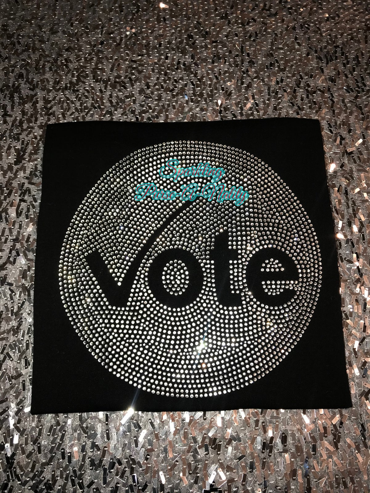 "Image of ""Sparkling"" VOTE shirt"