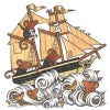 Mouse ship cards - variety pack of 5