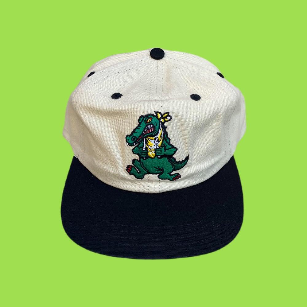 Image of NEW Alligator 100% Natural Hemp Snapback Hat! 🐊