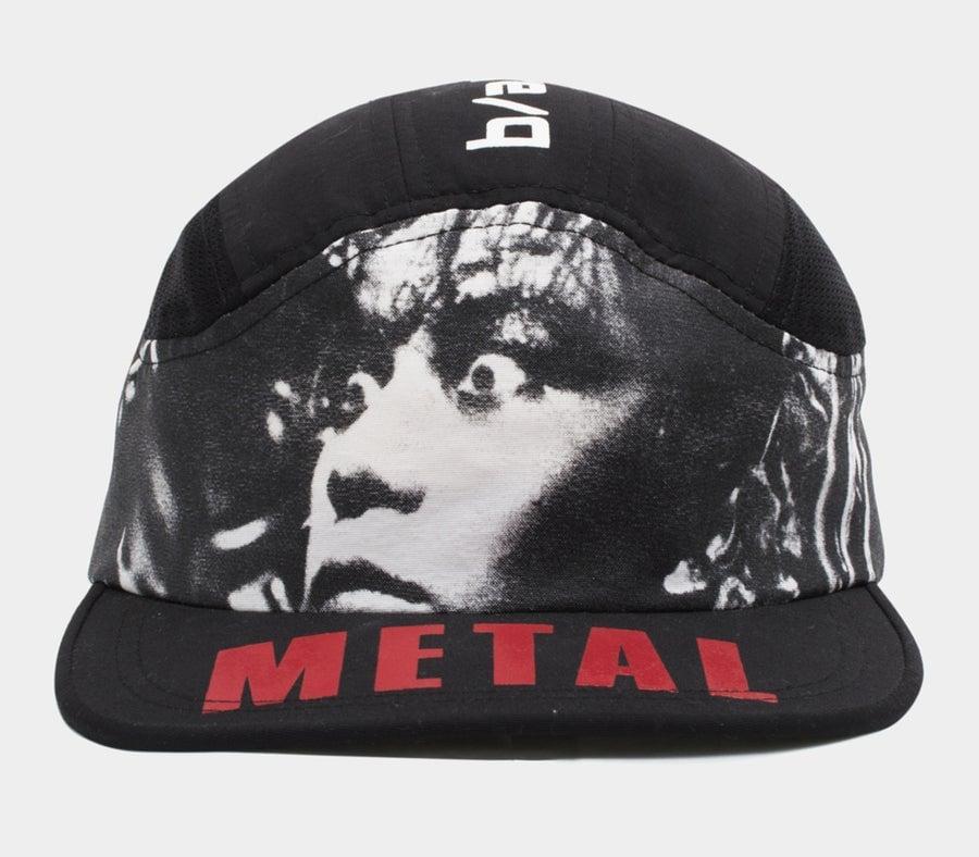 Image of Metal Fetishist Runner cap black