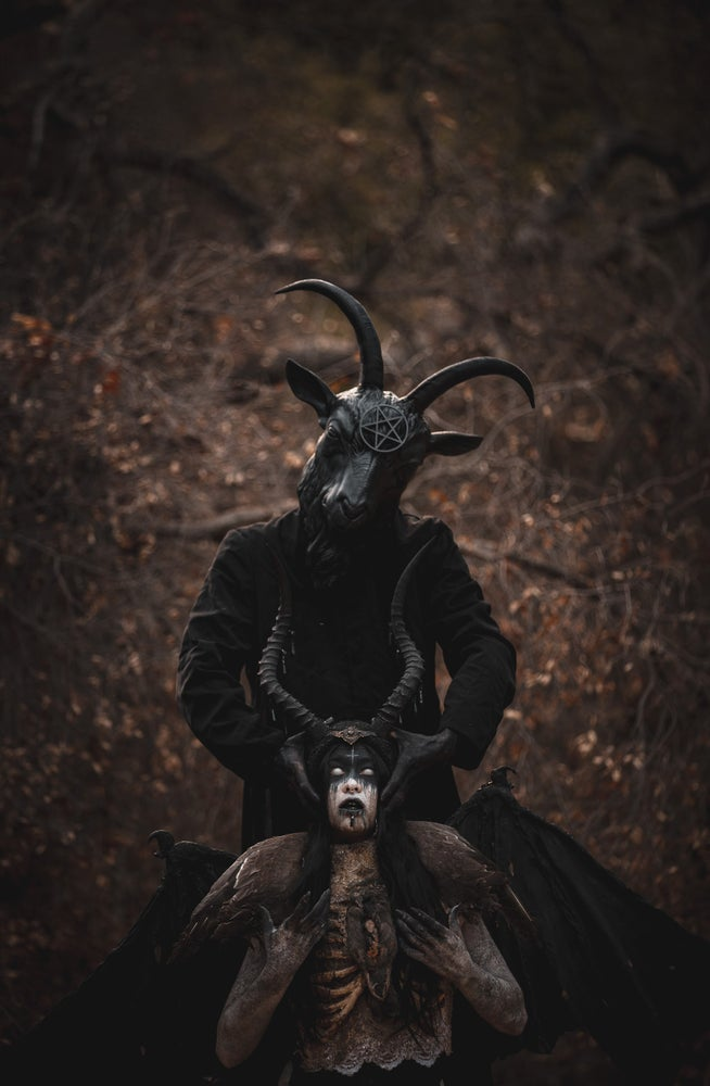 Image of Our Father - Realistic goat mask