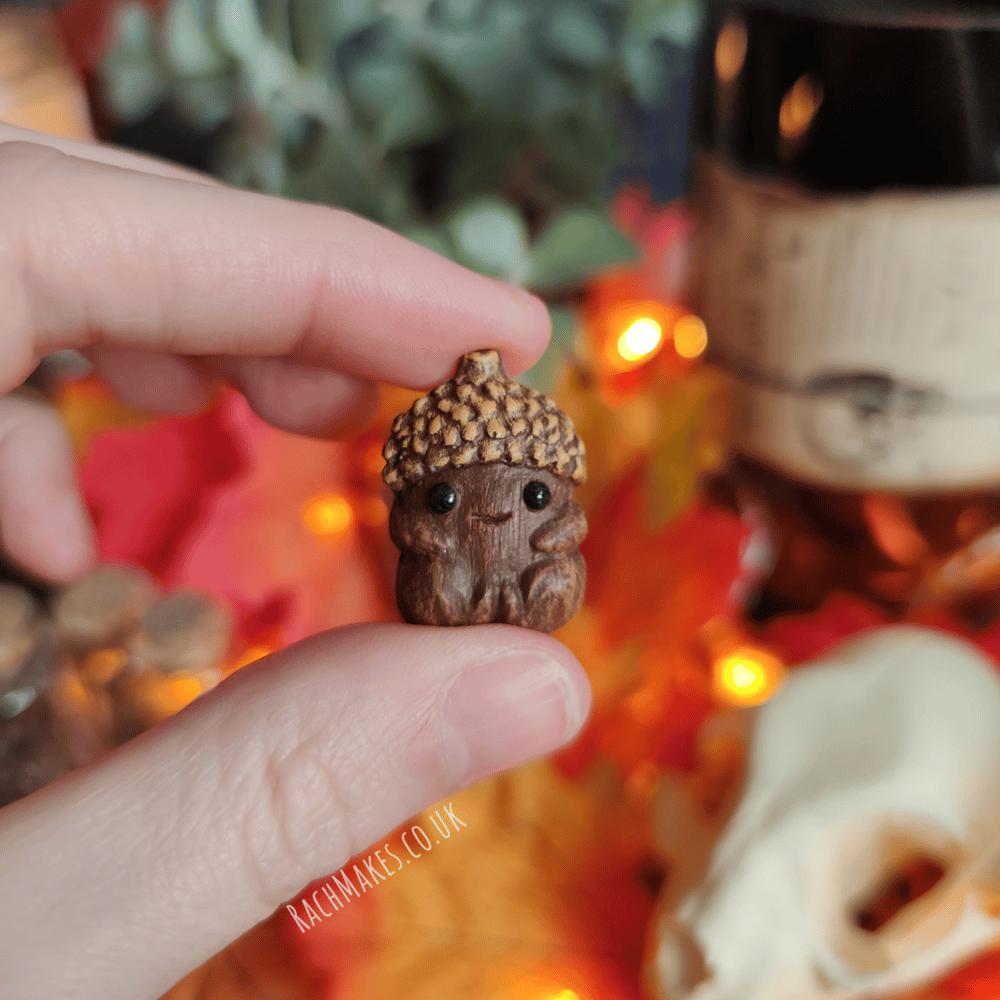 Image of Acorn Baby Pin / Magnet