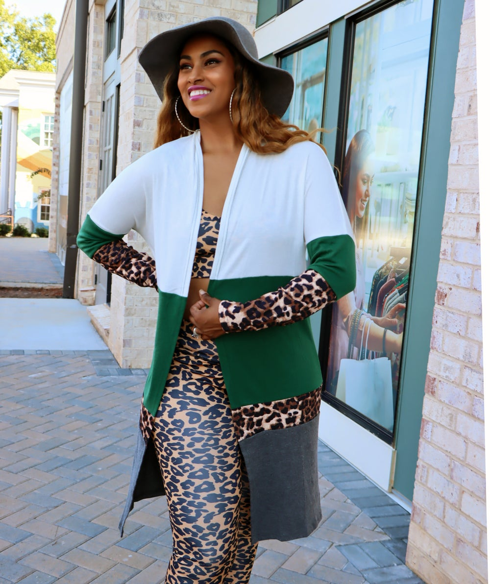 Emerald Patch Cardigan
