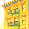 NYC Pride: STAR House (Framed Art Print)