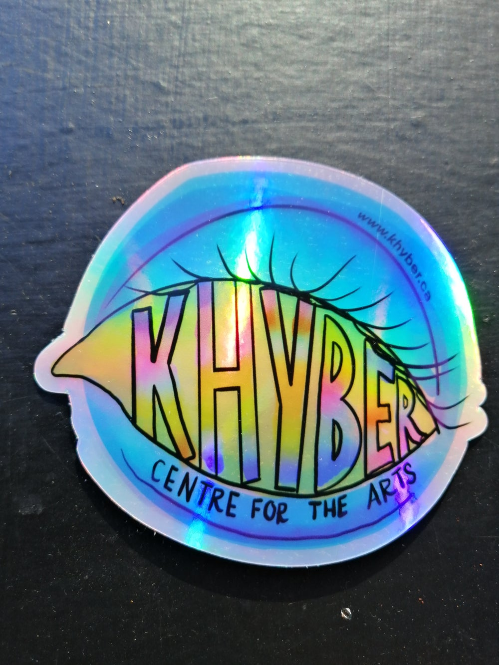 Image of KHYBER HOLOGRAPHIC STICKERS