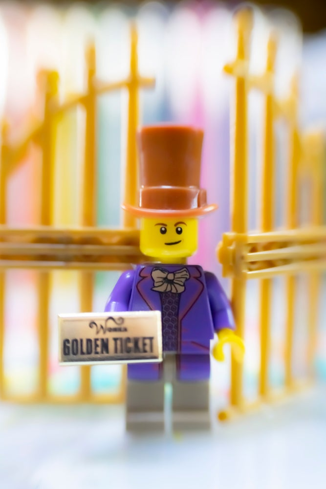 Image of Candy Man Blind Bags!  Golden Ticket Edition - Limited Edition!