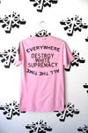 organize and DWS tee in pink