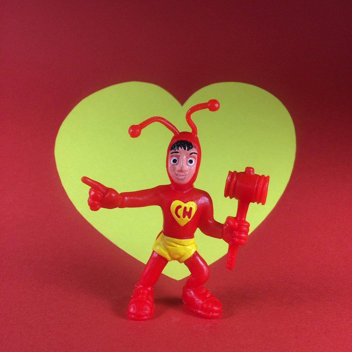 Image of El Chapulin Colorado Art Toy bootleg