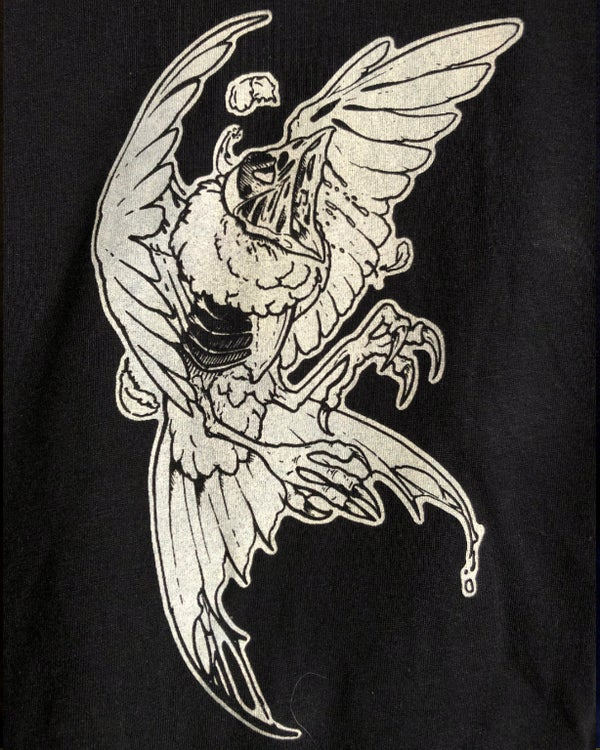 "Image of ""Flockling"" Hand-printed T-shirt"