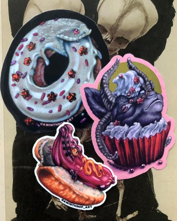 Image of Sticker Snacks