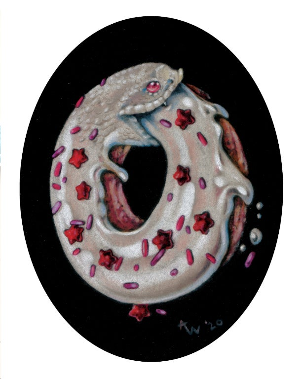 "Image of ""Devil's Food Snake"" Giclee Print"