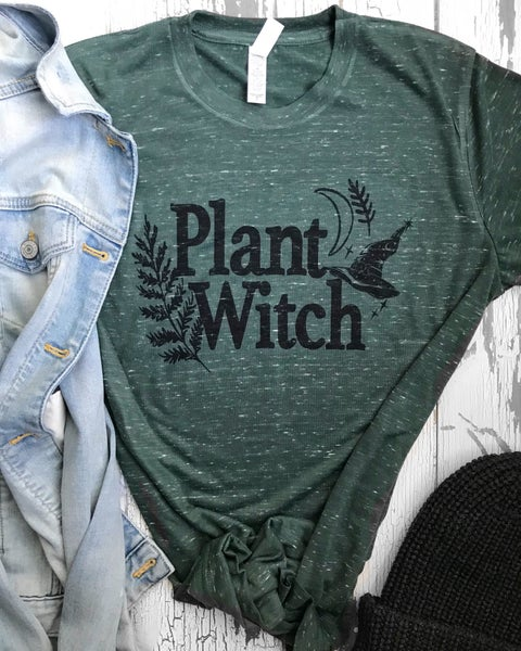Image of Plant Witch unisex tee