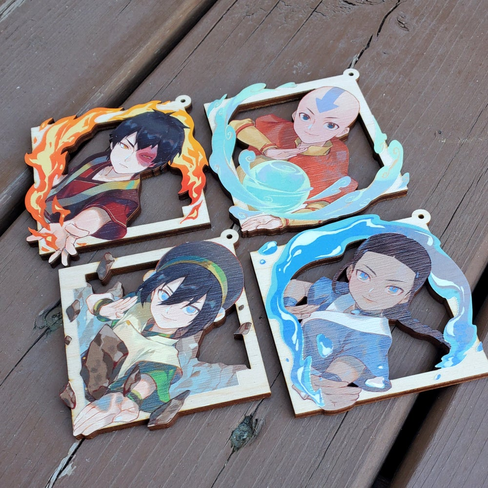 Image of ATLA Wooden Charms