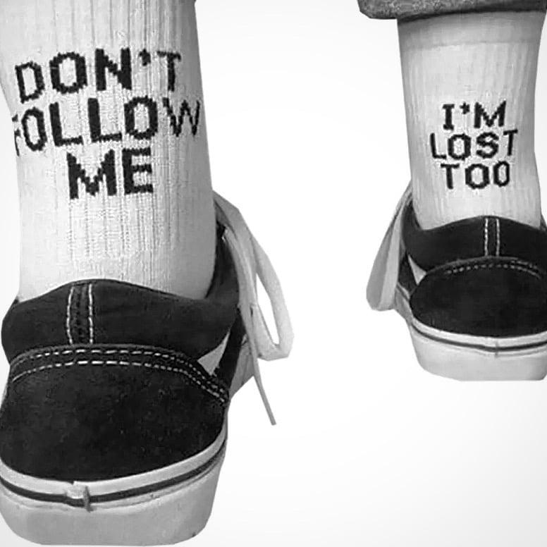 Image of Lost in myself Socks