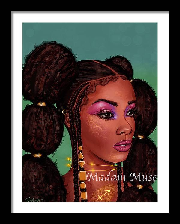 """Image of """"Queen Sagittarius"""" Prints"""