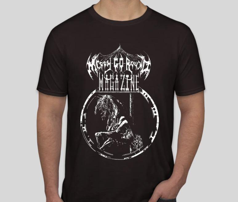 Image of Black Metal Merry-Go-Round