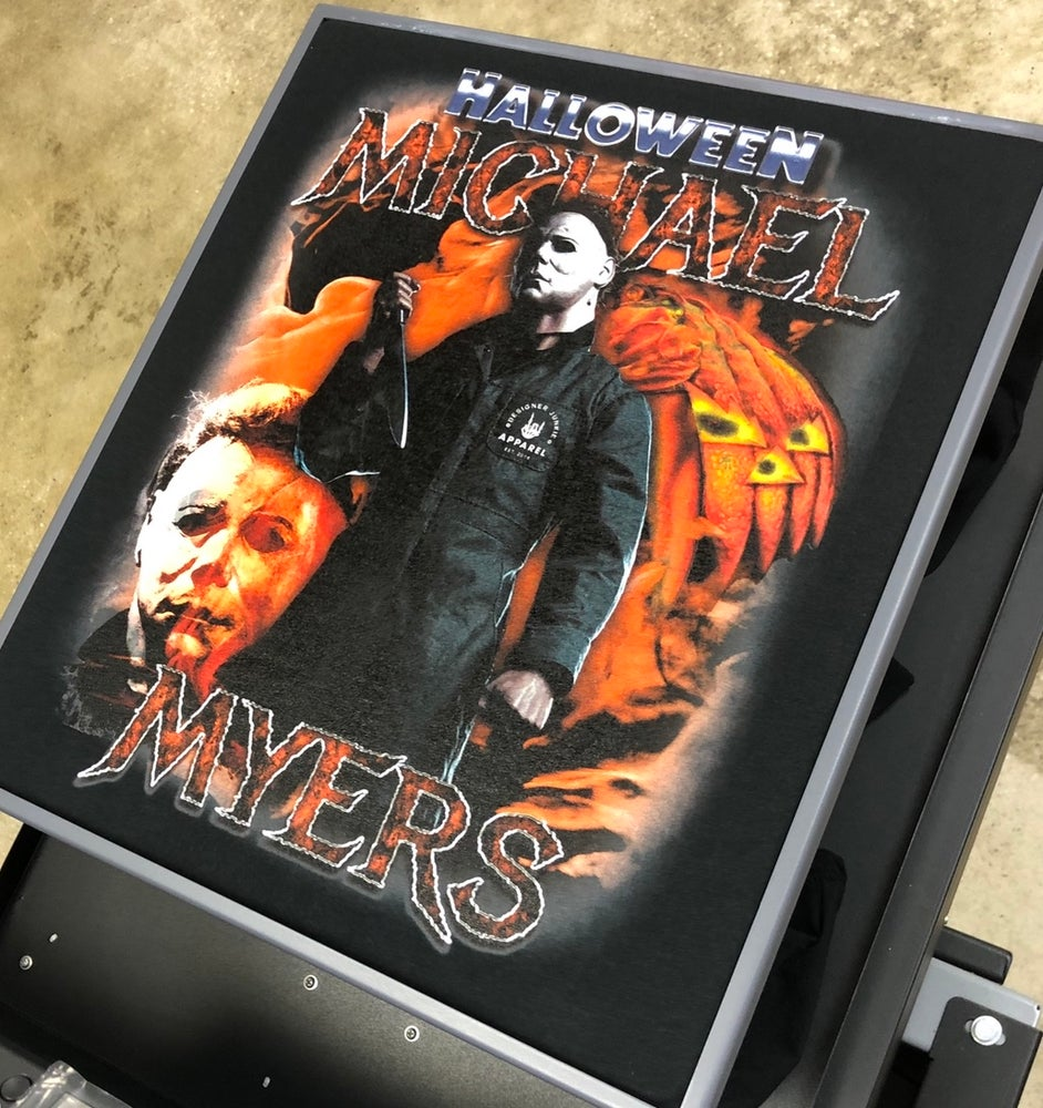 Image of Michael Myers Long Sleeve Halloween Tee