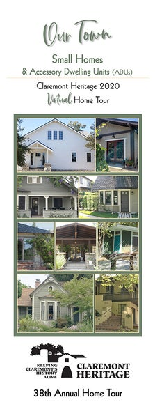 Image of 2020 Home Tour Booklet - Small Homes and ADUs