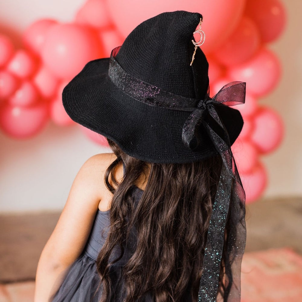 Image of Woodland Witch Hat with Moon + Stars Charm