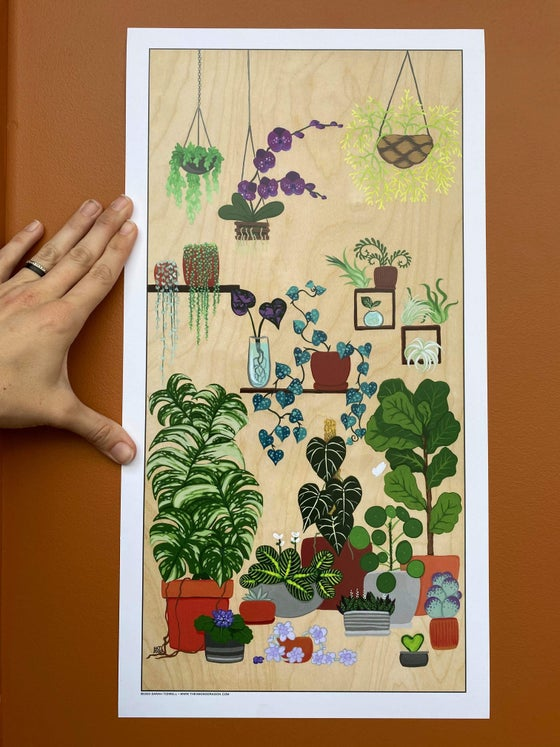 Image of The Grow Room - Print